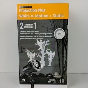 Projection Plus Whirl-A-Motion Halloween Decor